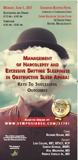 Management of Narcolepsy and Excessive Daytime Sleepiness in Obstructive Sleep Apnea Voxmedia Program Image
